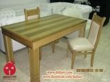 الإسم: طاولة سفرة خشب جوز افريقي  الوصف: طاولة سفرة خشب جوز افريقي  عدد الزيارات: 4215